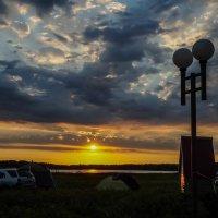 Закат на озере Гуселетово. :: Наталья ***