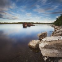 Зелёное озеро. Эстония :: Дима Хессе