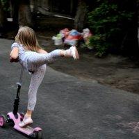 Юная гимнастка. :: Ольга Иргит