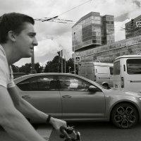 Я шагаю по Москве. С ветром наперегонки. :: Алексей Окунеев