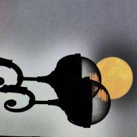 Луна и фонари. :: Alexey YakovLev