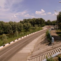 Набережная реки Ульба . :: Мила Бовкун