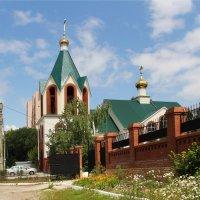 Храм в честь Святителя Николая Чудотворца :: Александр Алексеев