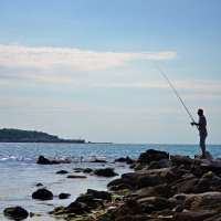 Морская рыбалка :: Nina Streapan