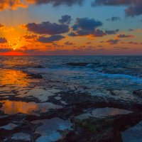 оранжевый закат :: Валерий Цингауз