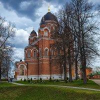 Спасо-Бородинский монастырь.Владимирский собор. :: Nikolay Ya.......