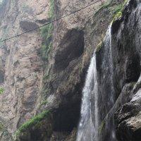 """Из серии """"Чегемское ущелье"""". Чегемские водопады. :: Любовь ***"""