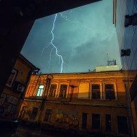Мокрый вечер :: Ежъ Осипов