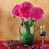 Пионы и вино :: SaGa