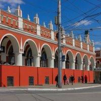 Гостиный двор или торговые ряды в Калуге :: Светлана Соловьева