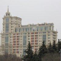 Дом со шпилем на Крымском Валу :: Дмитрий Никитин