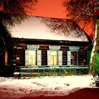 изба зимой :: Олег Губаревич