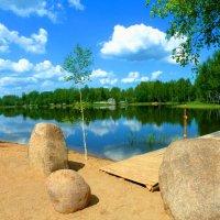 Май.Озеро. :: Александр Атаулин