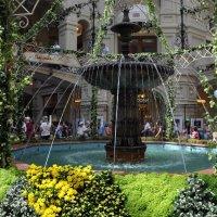 Если вы потерялись , встречайтесь в центре ГУМА у фонтана ! :: Анатолий Колосов