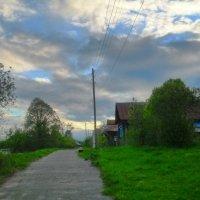 Облака над Дубровой :: Mary Коллар