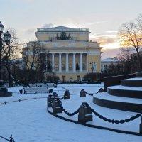 Александринка зимой :: Елена