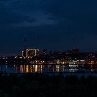 Вид с плотины Иркутской ГЭС :: Анна