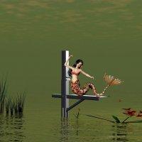 пейзаж с русалкой :: linnud