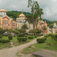 Ново-Афонский Симоно-Кананитский монастырь. :: Виктор Евстратов