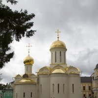 Троицкий собор 1437г.Здесь мощи Сергия Радонежского :: Слава