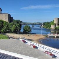 Липовка, две крепости, мост, граница :: veera (veerra)
