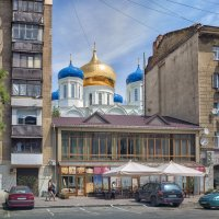 Лето в одесских проулках. :: Вахтанг Хантадзе