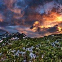 Закат над Оштеном :: Александр Хорошилов