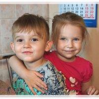 Внук и внучка. :: Anatol Livtsov