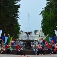 Парк и фонтан :: Вадим Басов