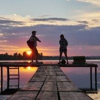 Фотосессии на закате. :: Сергей Адигамов