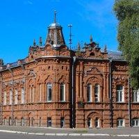 Дом купца А. Д. Васенёва (1900 г) г.Бийск :: Tanyana Zholobova