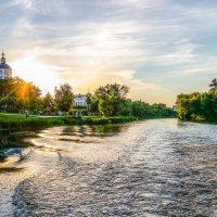 На реке Цне............. :: Александр Селезнев