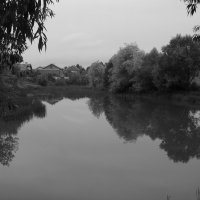 Пруд   в    Чукаливке :: Андрей  Васильевич Коляскин