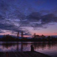 закат над речкой :: Юлия Морец