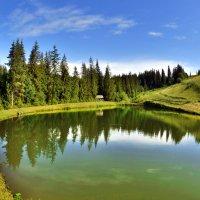 На Форелевом озере... :: Юрий Гординский