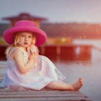 Закат на озере :: Ирина Громская