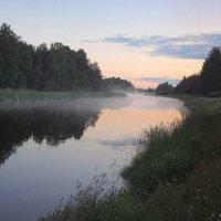 Туман вечерний струится над рекой :: Павлова Татьяна Павлова