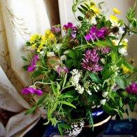 Букет полевых цветов: нежное очарование :: Елена Павлова (Смолова)