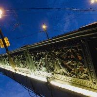Крыло Литейного моста. :: Александр Ихисаев