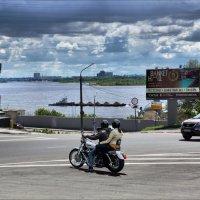 Плыла баржа по Волге. :: Anatol Livtsov