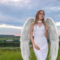 Девушка ангел :: Владимир Притчин