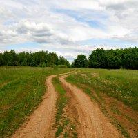 Извилистая дорожка к облакам :: Андрей Головкин
