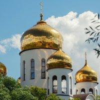 церковь  в Вешняках. :: Борис Калитенко