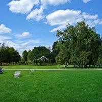 В ботаническом саду Аугсбурга все располагает к отдыху... :: Galina Dzubina