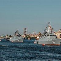 Корабли вошли в Неву... :: Валентин Яруллин