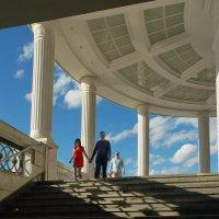 Лестница на Болотную. :: Александр Бабаев