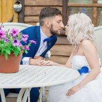 Свадьба в синем цвете :: Оксана Чёрная