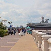 На Нижне-Волжской набережной Нижнего Новгорода :: Роман Царев