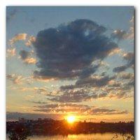 Причудливые облака. :: Чария Зоя