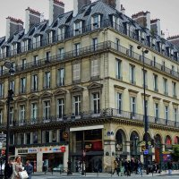 Парижский перекресток :: Александр Корчемный